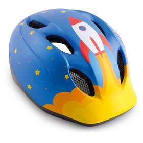 MET Superbuddy Helm blue rocket